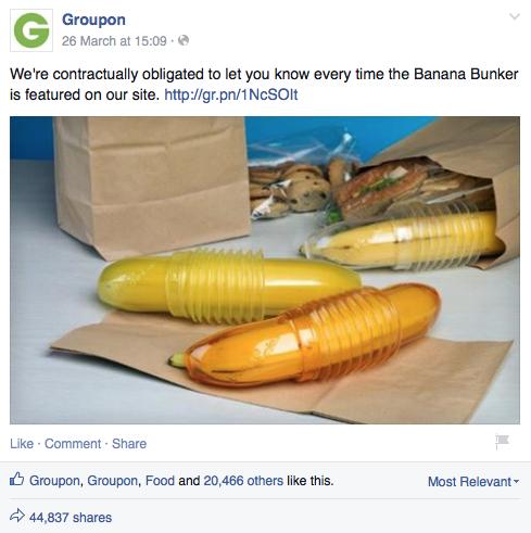Groupon's Banana Bunker