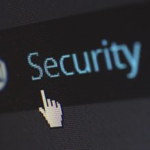 Cursor on 'security'